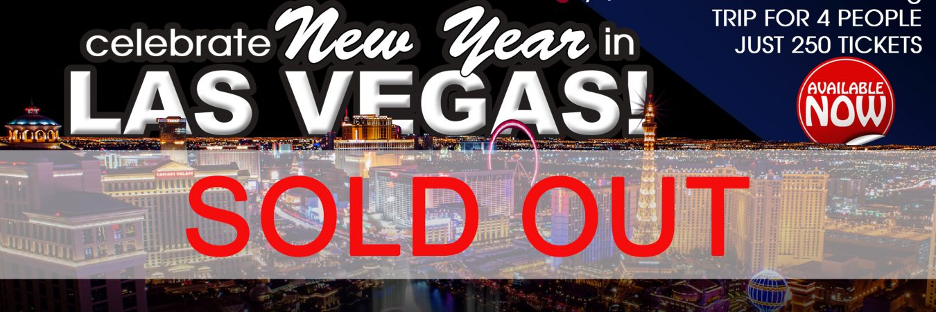 Las Vegas Raffle 2019 - sold out